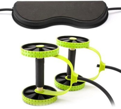 Kumar Retail Men Woman Fitness Abdominal Trainer Xtreme ABS workout Kit Resistance Bands Exercise Multifunction Crossfit Exercise Ab Exerciser(Green, Black)