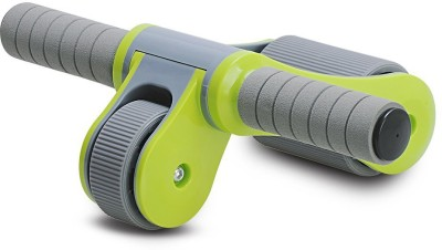 Dolphy Foldable Abdominal Roller Wheel Ab Exerciser Green