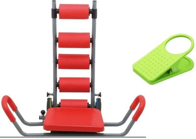Metro Sports Rocket Twister Ab Exerciser Silver, Red Metro Sports Ab Exercisers