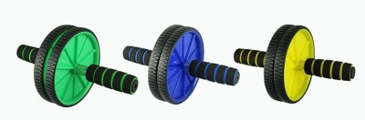 Imported Exercise Wheel Ab Exerciser(Multicolor)
