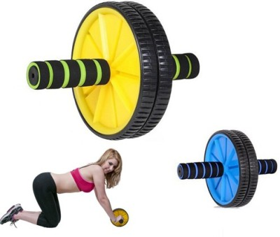 shital Abs Roller Wheel Exerciser (color may vary) Ab Exerciser(Multicolor)  available at flipkart for Rs.194