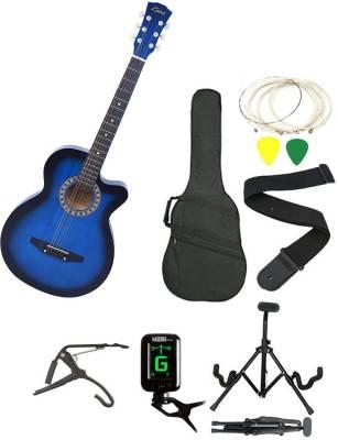 Zabel ZBL-BLU-SC ZBL-BLU-SC Acoustic Guitar