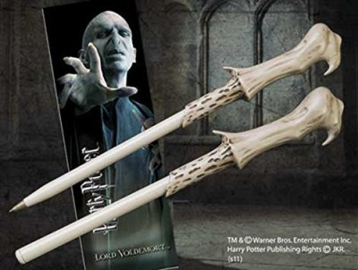 Harry Potter Voldemort Wand Pen and Bookmark(Multicolor)
