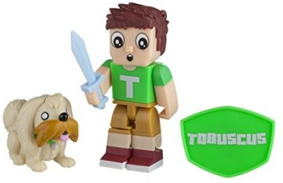 Tube Heroes Heroes Tobuscus Figure with Accessories(Multicolor)