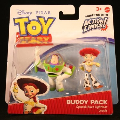Toy Story Spanish Buzz Lightyear & Jessie 3 Buddy Pack Disney(Multicolor)  available at flipkart for Rs.2605