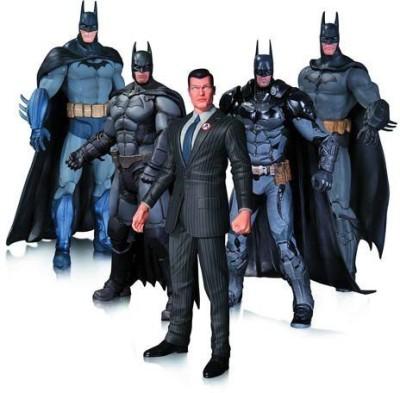 Diamond Comic Distributors Batman Arkham Action Figure 5-Pack ( Multicolor )