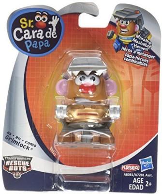 Playskool Mr Potato Head Transformers Mixable Mashable Heroes(Multicolor)