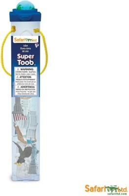 Safari Ltd Super Toob - USA(Multicolor)