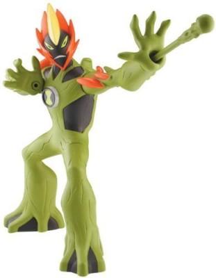 Ben 10 Swamp Fire 6 Inch Dna Alien Heroes(Multicolor)