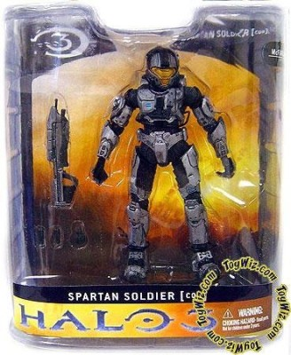 9eb927e4f98 Halo 3 Mcfarlane Toys Series 1 Exclusive Action Figure Steel Close Quarter  Battle (Cqb)