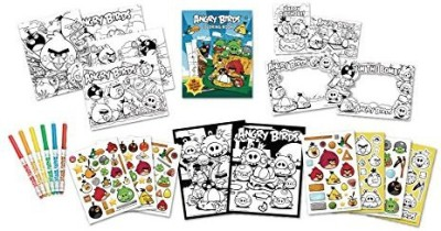 Angry Birds Cra-Z-Art Super Value Kit(Multicolor)
