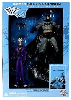 Batman The Long Halloween Collector Set With Comic Tp & Joker(Multicolor)