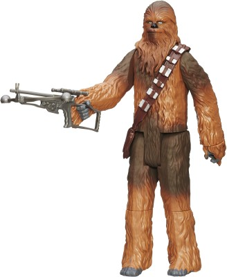 Funskool Star Wars E7 Hero Series Deluxe Figures - Chewbacca(Multicolor)