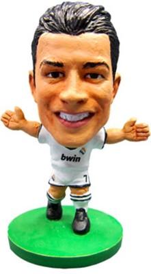 pretty nice 4e752 4236f SoccerStarz Real Madrid F.C. Cristiano Ronaldo(Multicolor)