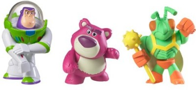 Mattel T0541 Lotso, Buzz and Twitch Figure(Multicolor)  available at flipkart for Rs.2040