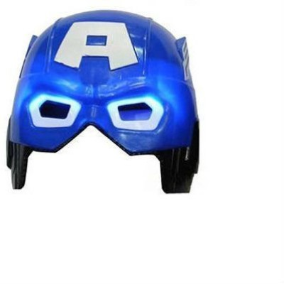 Shrih High Quality Led Super Hero Mask Blue