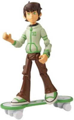 Ben 10 Omniverse 4 Inch Ben (16 Years Old With Skateboard)(Multicolor)
