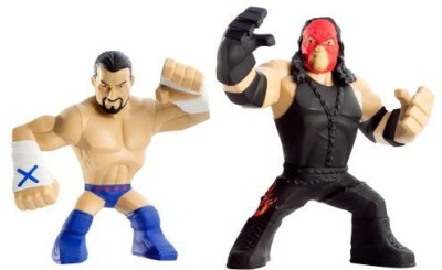 Mattel Wwe Rumblers Cm Punk And Kane 2Pack(Multicolor)  available at flipkart for Rs.2727