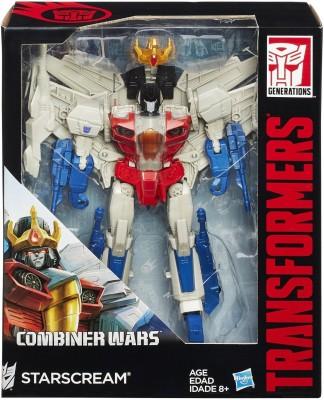 Funskool Transformers Generations Leader Class Starscream Figure(Multicolor)