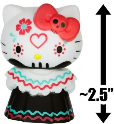Hello Kitty Red Bow Calavera(Multicolor)