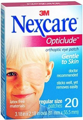 Nexcare Opticlude Orthoptic Eye Patches Adhesive Band Aid(Set of 3)