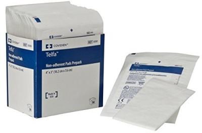 Covidien Telfa Non-Adherent Pads Prepack Adhesive Band Aid(Set of 2)