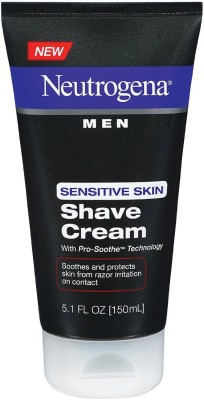 Neutrogena Men Shave Cream Sensitive Skin Aftershave Cream(150 ml)