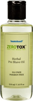 Healthbuddy Zerotox Herbal Pre Shave Oil Aftershave(210 ml)