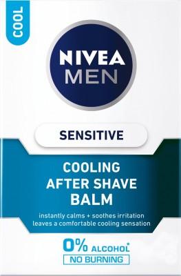 Nivea Men Sensitive Cooling After Shave Balm(100 ml)  available at flipkart for Rs.255