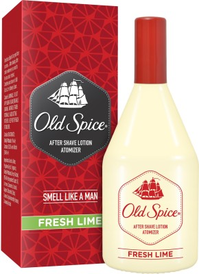 Old Spice After Shave Lotion Atomiser Fresh Lime(150 ml)  available at flipkart for Rs.199