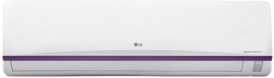 LG 1 Ton Inverter (3 Star) Split AC  - White(JS-Q12BPXA, Aluminium Condenser)   Air Conditioner  (LG)