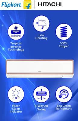 Hitachi 2 Tons Inverter Split AC Copper (RAU324EWEAS)