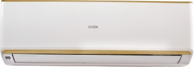 Onida 1.5 Ton 3 Star Split Inverter AC  - White, Gold(INV18GDR, Copper Condenser)