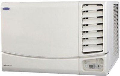 Carrier 1 Ton 3 Star Window AC  – White(12K ESTRA (3 STAR) WRAC AC R22, Copper Condenser)