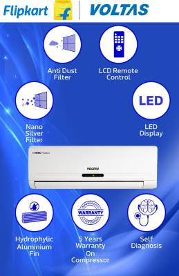 Voltas-1.5-Ton-3-Star-183-Cye-Split-Air-Conditioner