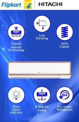 Hitachi-1-Ton-Inverter-Split-air-conditioner
