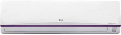 LG 1.5 Ton 3 Star BEE Rating 2017 Inverter AC  – White(JS-Q18BTXD, Aluminium Condenser)
