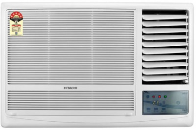 Hitachi 1.5 Ton 5 Star RAW518KUD Window AC White