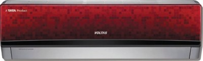 Voltas 1 Ton 3 Star Split AC  - Red(123 Zya-R)