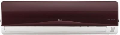 LG 1.5 Ton 3 Star BEE Rating 2017 Inverter AC  - Red(JS-Q18NRXA, Aluminium Condenser)