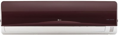 LG 1.5 Ton 3 Star BEE Rating 2017 Inverter AC - Red(JS-Q18NRXA, Aluminium Condenser) 1