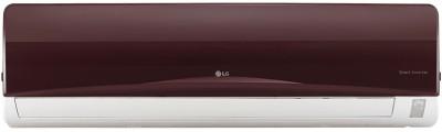 LG 1 Ton 3 Star BEE Rating 2017 Split AC  - Red(JS-Q12NRXA, Aluminium Condenser)