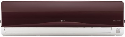 View LG 1 Ton 3 Star BEE Rating 2017 Split AC  - Red(JS-Q12NRXA, Aluminium Condenser)  Price Online