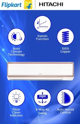 Hitachi-1.2-Tons-5-Star-Split-air-conditioner