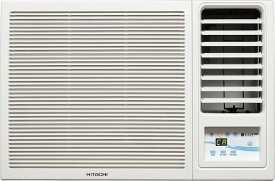 Hitachi 1 Ton 3 Star BEE Rating 2017 Window AC  - White(RAW312KWD)