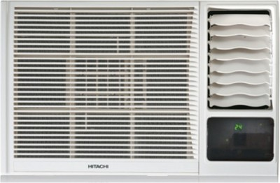 Hitachi 1.5 Ton 3 Star Window AC  - White(RAW318KVDI)
