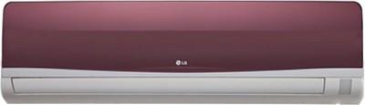 View LG 1 Ton 3 Star Split AC  - Wine Red(LSA3WT3D, Copper Condenser)  Price Online