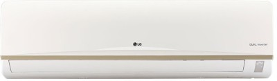 LG 1.5 Ton Inverter (3 Star) Split AC  - White(JS-Q18AUXA, Copper Condenser)   Air Conditioner  (LG)