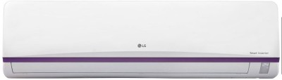 LG 1 Ton Inverter (3 Star) Split AC  - White(JS-Q12BTXD, Aluminium Condenser)   Air Conditioner  (LG)