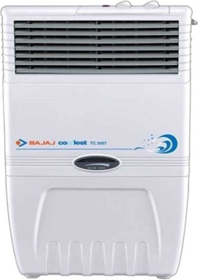 Bajaj TC-2007 Room Air Cooler(White, 34 Litres)  available at flipkart for Rs.6149